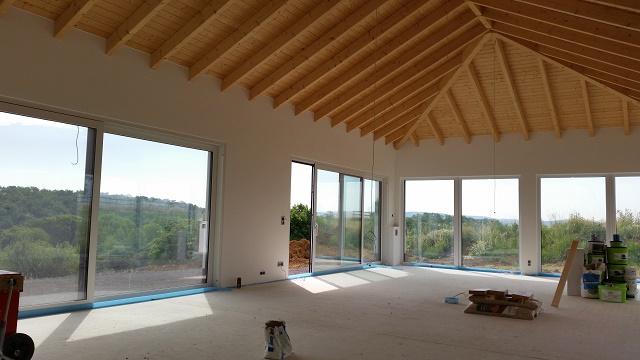 Glatte Wände Und Decken Im Neubau.