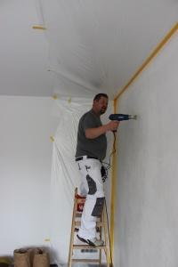 Vorarbeiten Malerarbeiten