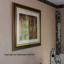 Wandgestaltung Deko und Bilder by Malerteam Borsch