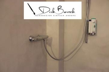 Dusche fugenlos mit Mikrozement