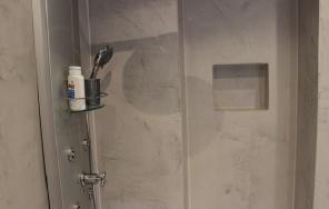 Dusche ohne Fliesen WD Borsch