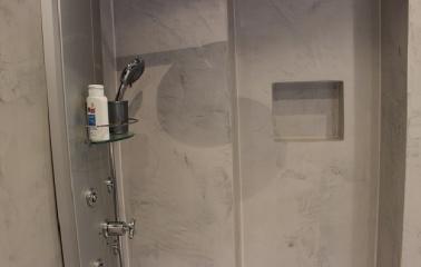Dusche ohne Fliesen