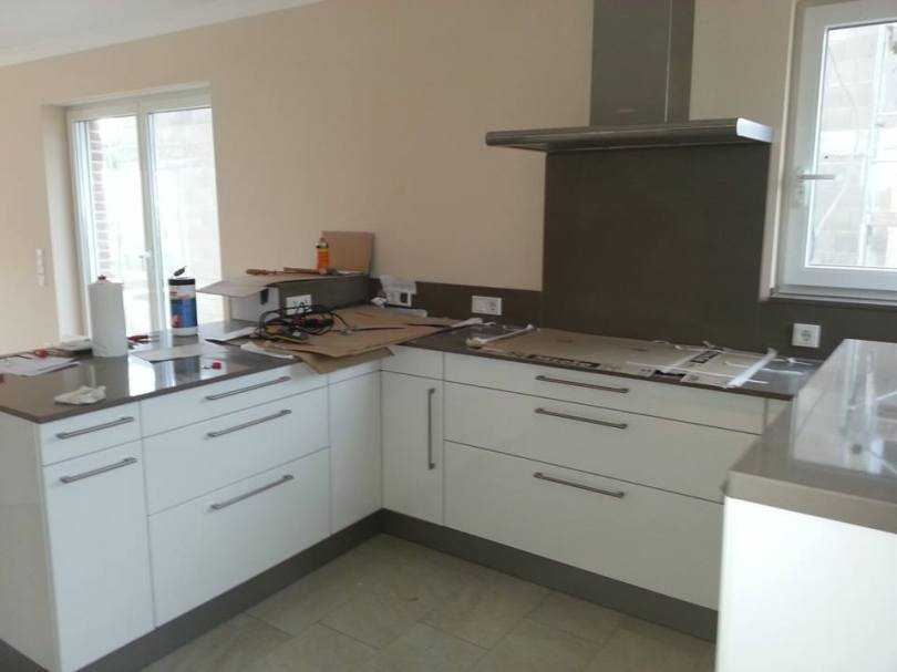 Einbauküche Neubau