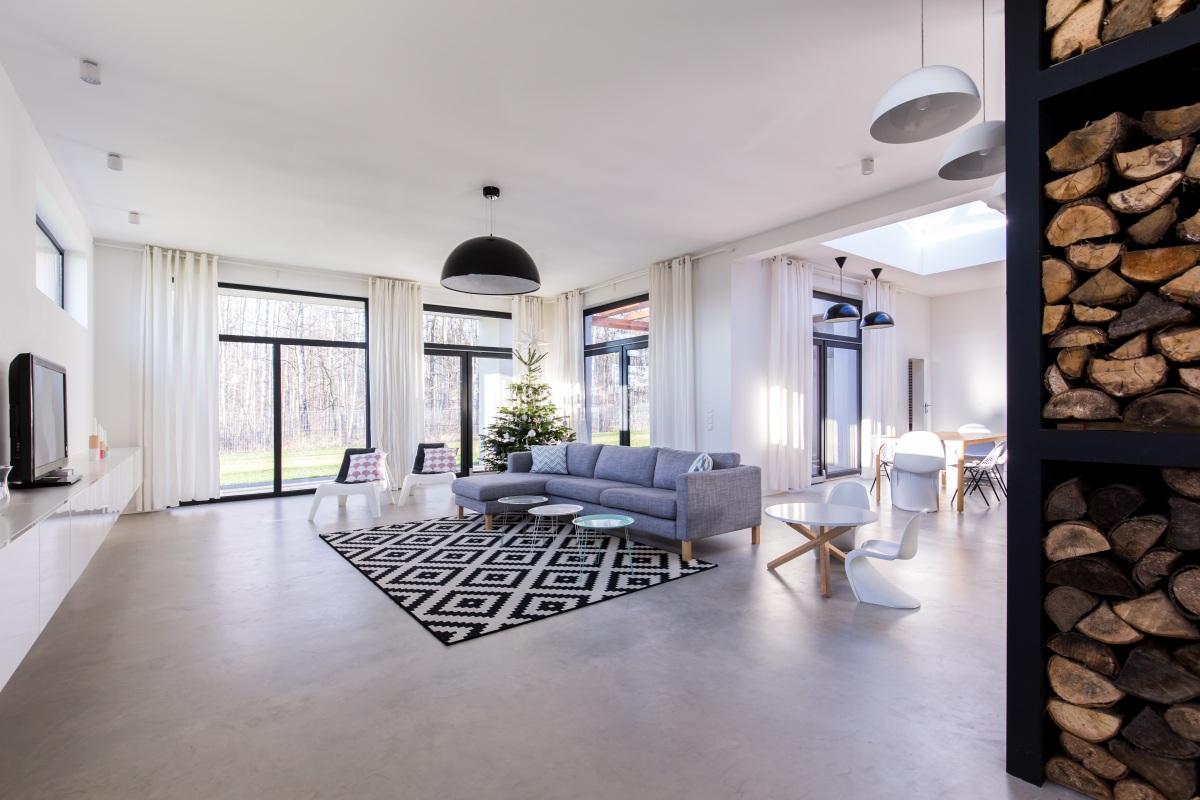 Fugenloser Design Spachtelboden, moderne Trends, technische Perfektion und einzigartig im Design