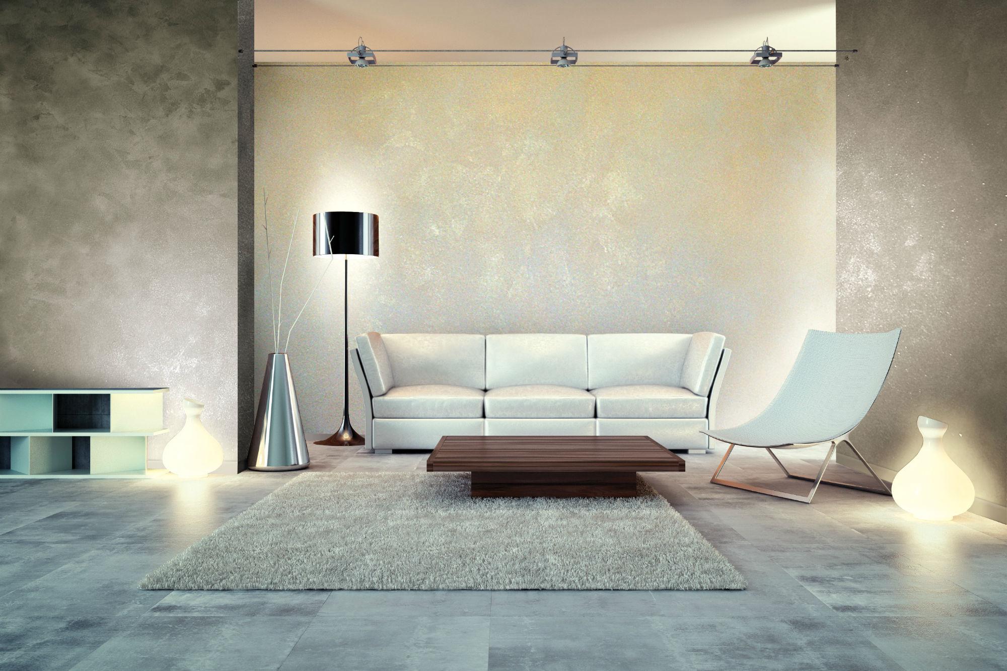 Style dein heim typisch moderne wanddesigns mit und ohne for Lighting for interior design malcolm innes