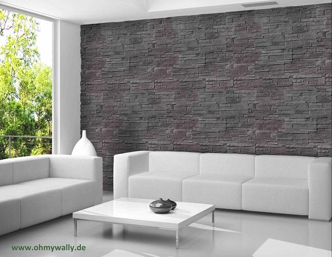 steinw nde k nnen sie ganz leicht selbst gestalten. Black Bedroom Furniture Sets. Home Design Ideas