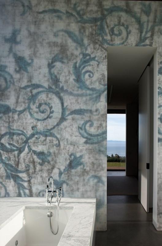 wasserdichte tapeten f r die dusche bad exklusive. Black Bedroom Furniture Sets. Home Design Ideas