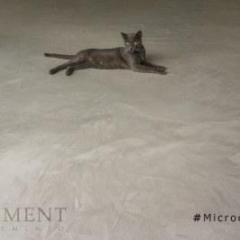 Designspachtelboden mit Mikrozement