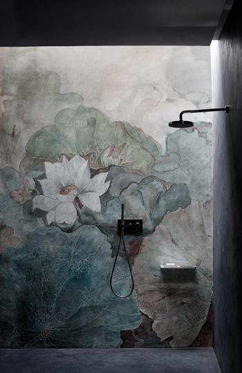 Wasserfeste Tapete Dusche wasserdichte tapeten für die dusche bad exklusive wohnideen