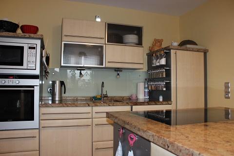 Küche farbig