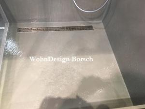 Mikrozement Dusche
