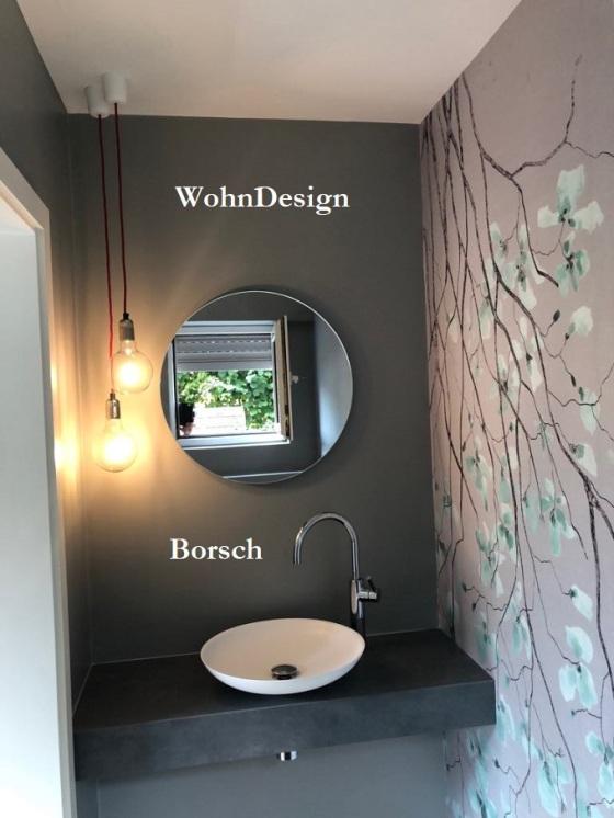 Gäste WC ohne Fliesen